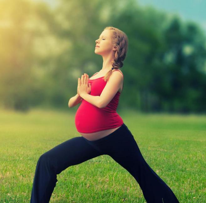 Йога для беременных (1 триместр). Занятия йогой дома