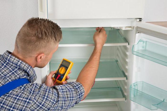 холодильник включается и выключается