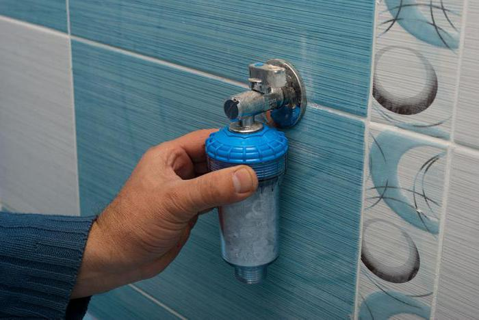 фильтр для стиральной машины при плохой воде установка