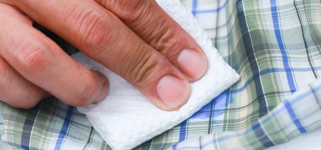 how to remove gel paste from clothes