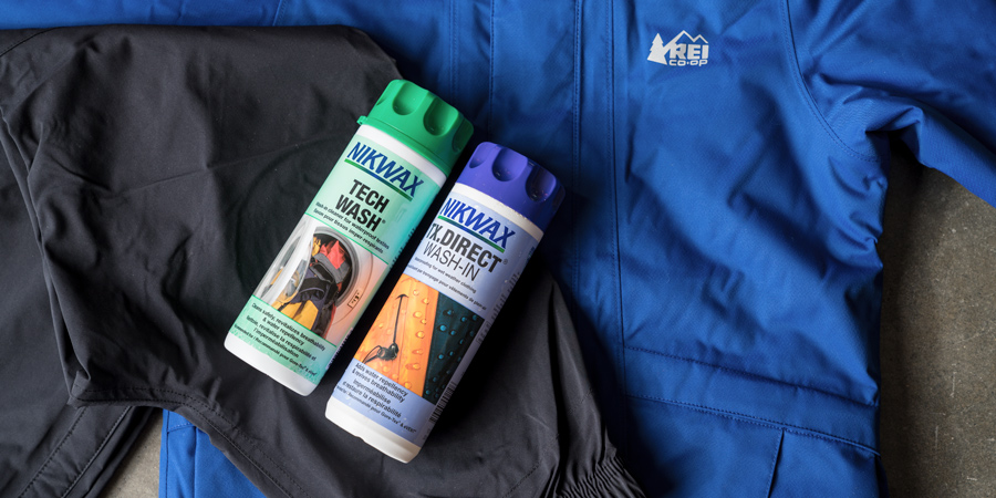 how to wash a membrane jacket