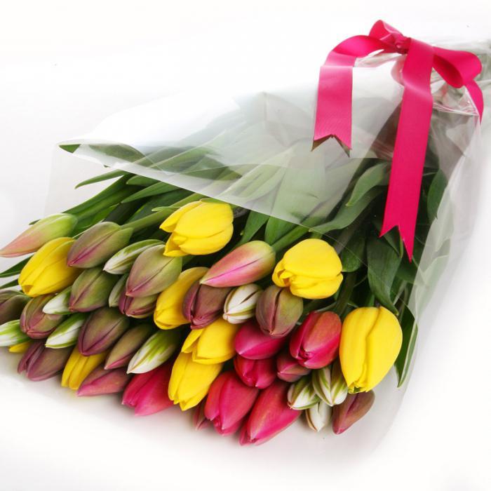 уход за срезанными тюльпанами в домашних условиях