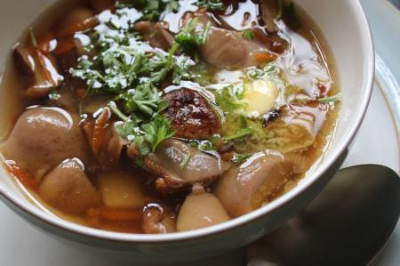 Суп из подберезовиков - ароматное и сытное блюдо