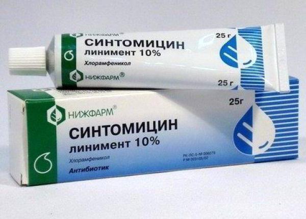 линимент синтомицина инструкция по применению