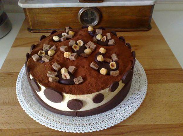 муссовый торт диабелла рецепт