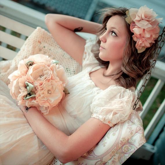 Букет невесты: осенний стиль свадьбы