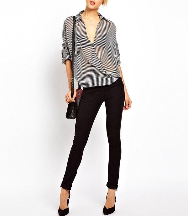 Модные Шифоновые Блузки