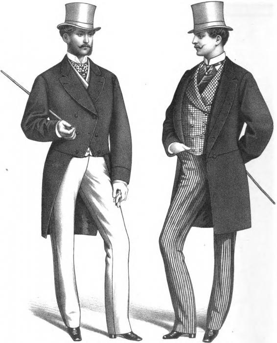 одежда первой половины 19 века