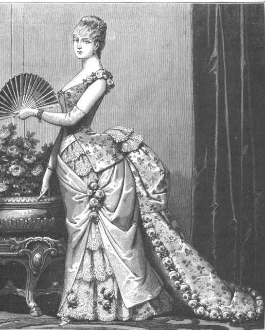 Женский костюм 19 век россия