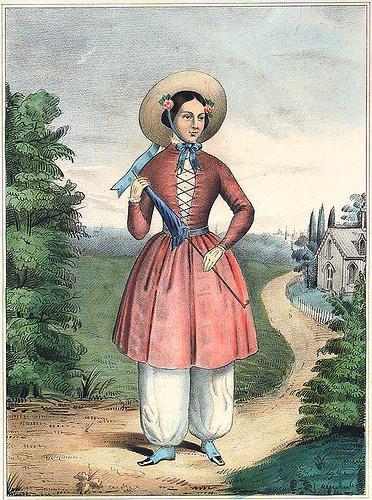 женская одежда 19 века