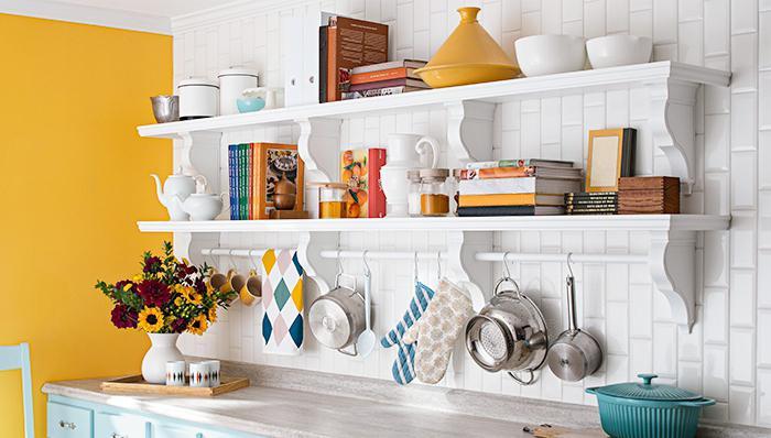 Как сделать на кухне своими руками навесные шкафы