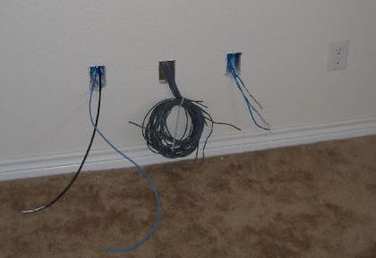 Проводка электричества в доме
