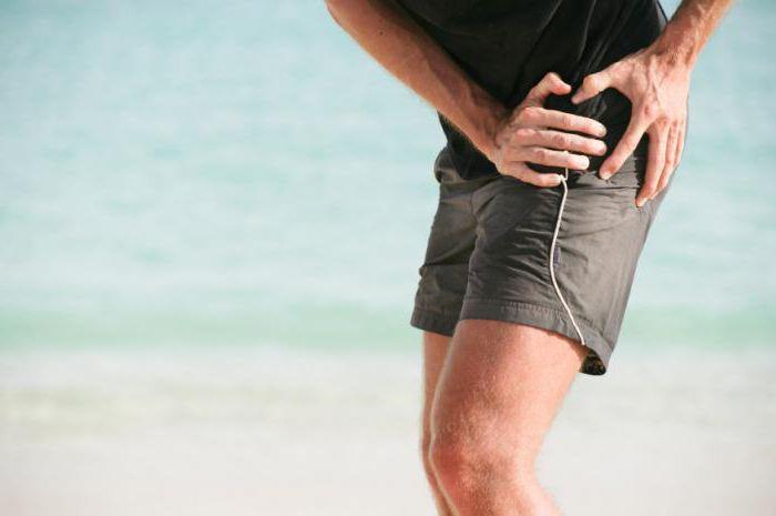 боль и пощелкивание в тазобедренном суставе