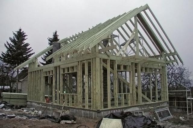 каркасная технология домостроения
