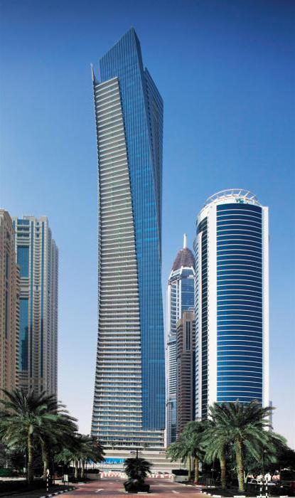 самые высокие здания дубая