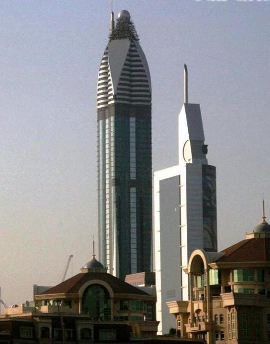 самое высокое здание в дубае фото