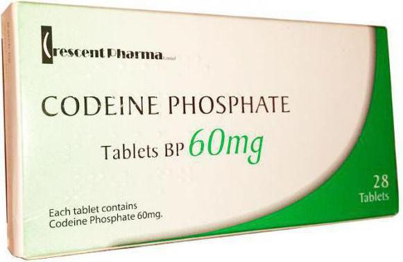 кодеина фосфат инструкция по применению - фото 2