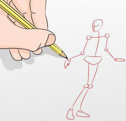 How to draw the human body? Step by step instructions
