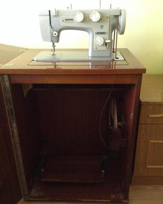 подольск 142 швейная машина инструкция
