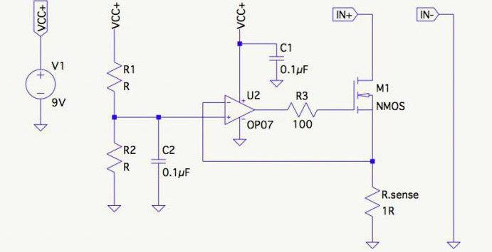 Усилитель постоянного тока на транзисторе схема фото 405