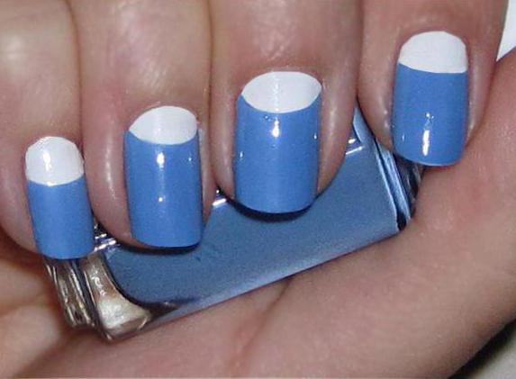 красивый и легкий маникюр на коротких ногтях