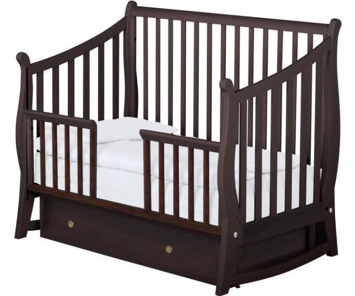 кроватка качалка papalon