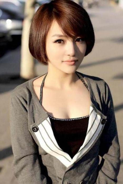 корейские прически для девушек фото