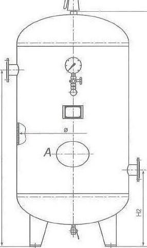 самодельный ресивер для компрессора