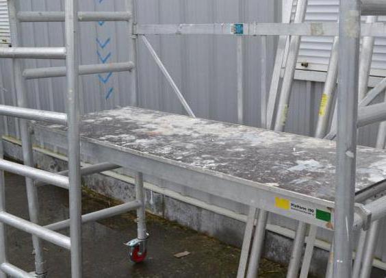 помост строительный малярный