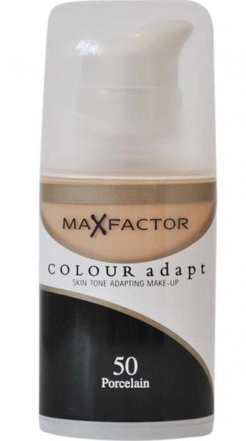 тональный крем макс фактор колор адапт отзывы