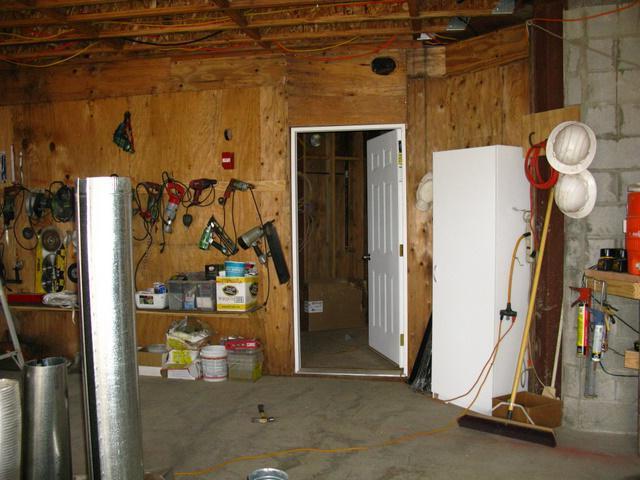 как провести проводку в гараже