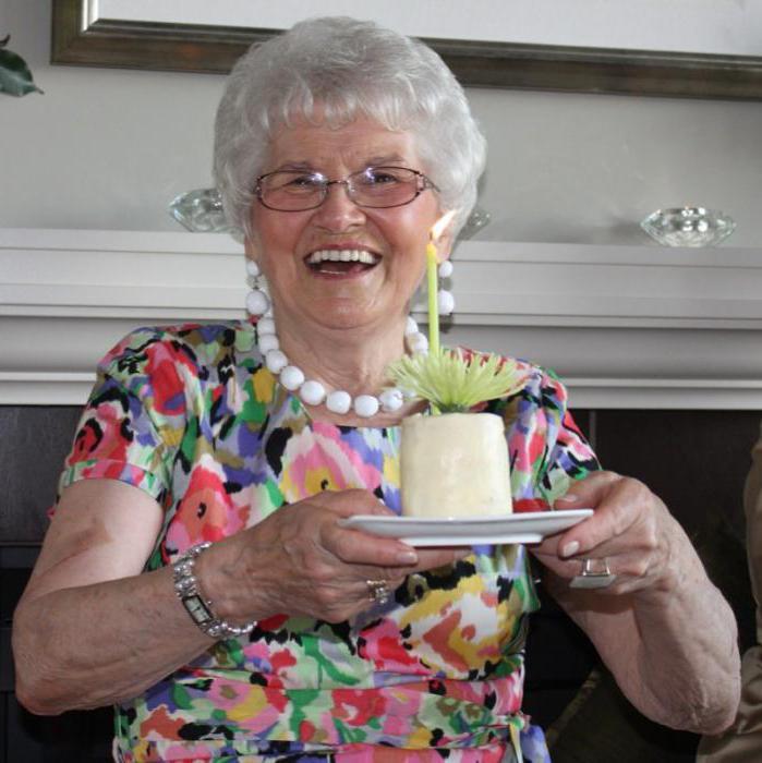Поздравления пожилой женщине бабушке