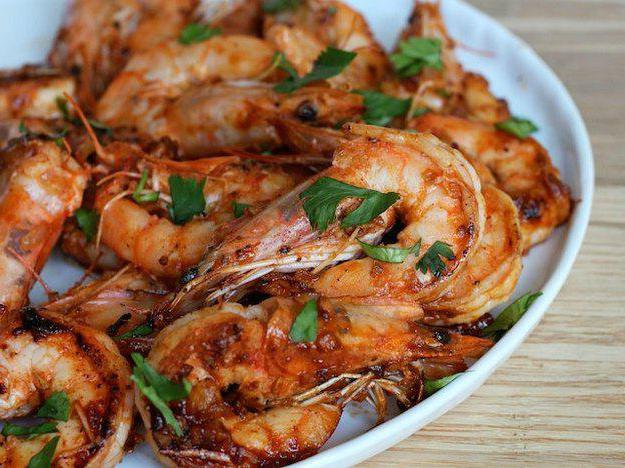 жареные креветки в соевом соусе рецепт с фото