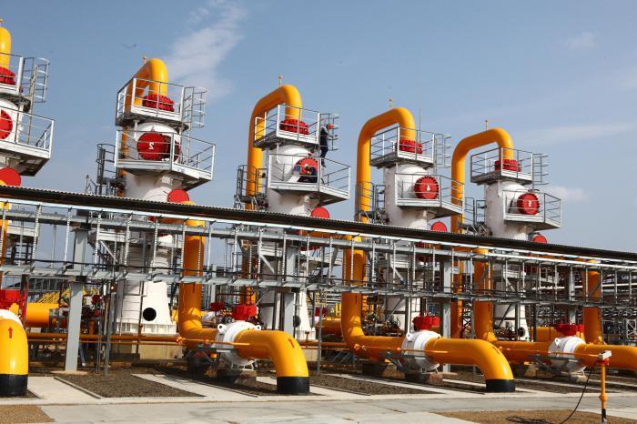 запасы газа в мире (2014)
