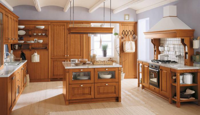Интерьер дома гостиная кухня