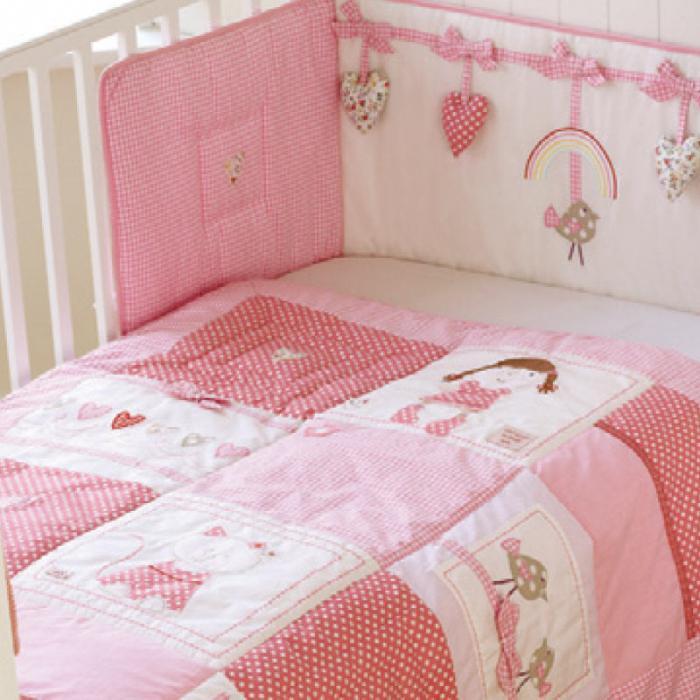 Бортик в кроватку для новорожденных своими руками