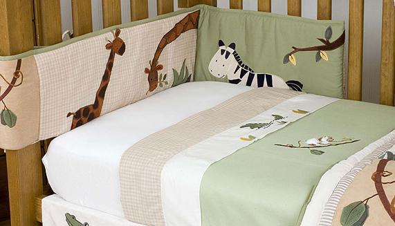 Как избрать бампер в детскую кровать и как сшить его своими…