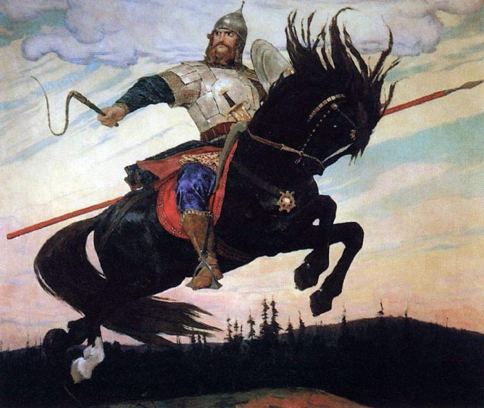 Герой Илья Муромец