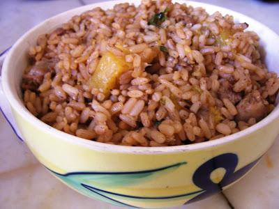 Бурый рис (рецепты)