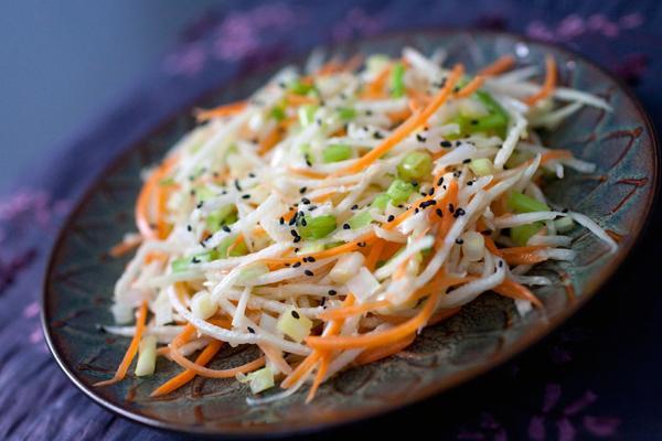 Редька дайкон рецепты салатов с фото простые