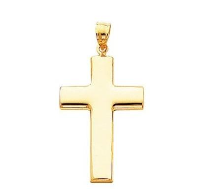 фото крест золотой мужской большой