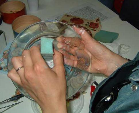 Кракелюр на стекле