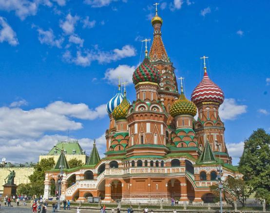 Красная площадь Собор Василия Блаженного