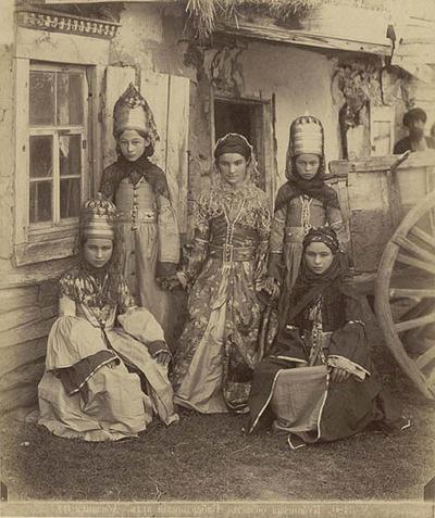нарисовать русский народный костюм мужской