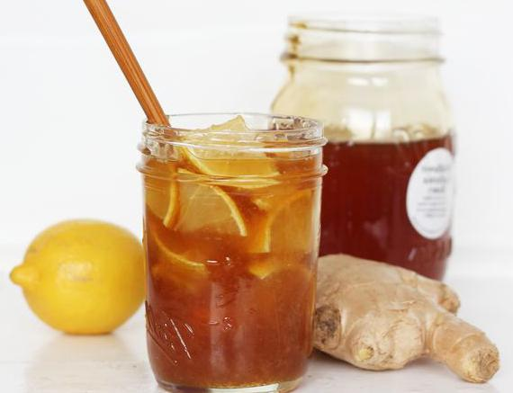 как приготовить имбирь с лимоном
