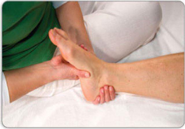 Растяжение сухожилия на ноге