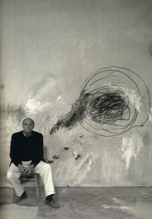 Unique paintings of CY Twombly