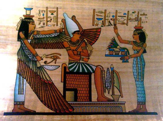 Что такое настенная роспись в древнем египте