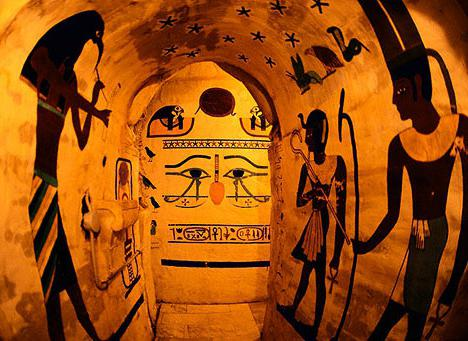 настенные росписи древнего египта
