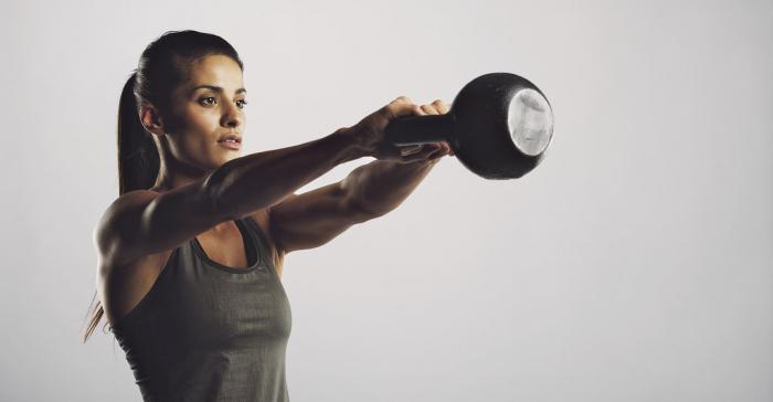 гиревой спорт тренировка
